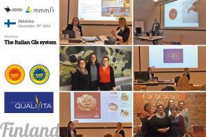 QUALIVITA IN FINLANDIA PROMUOVE IL SISTEMA DELLE INDICAZIONI GEOGRAFICHE