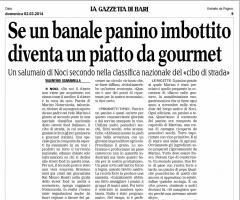 "SE UN ""BANALE"" PANINO DIVENTA UN PIATTO GOURMET"