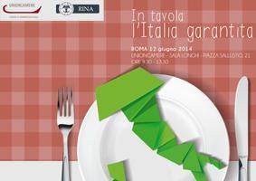 CONVEGNO: IN TAVOLA L'ITALIA GARANTITA