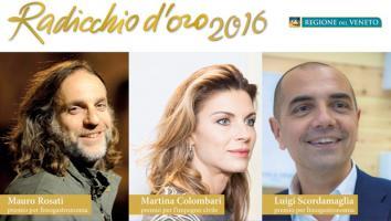A MAURO ROSATI IL PREMIO RADICCHIO D'ORO 2016 PER LA GASTRONOMIA
