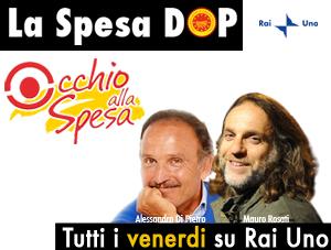 Altre quattro DOP italiane protagoniste ad Occhio alla Spesa su Rai Uno