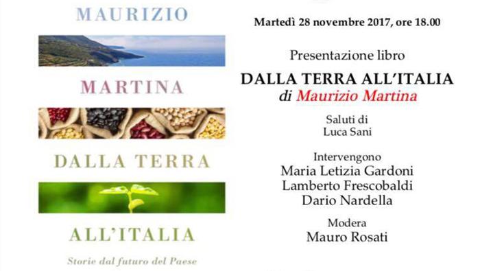 """MARTINA A FIRENZE PRESENTA IL LIBRO """"DALLA TERRA ALL' ITALIA"""""""
