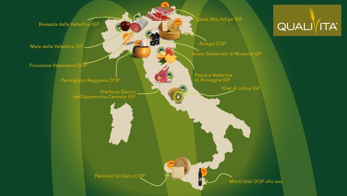 QUALIVITA: TRE INDICAZIONI GEOGRAFICHE ITALIANE NEI NUOVI PANINI D'AUTORE