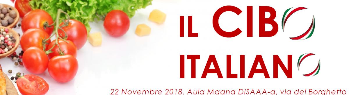 A PISA GIORNATA SUL CIBO ITALIANO